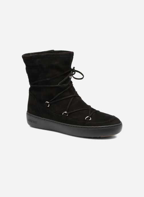 Sport shoes Moon Boot Pulse mid Black detailed view/ Pair view