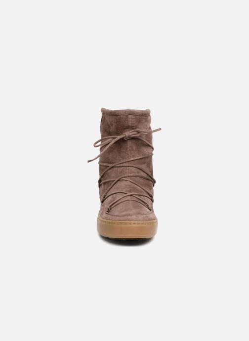 Chaussures de sport Moon Boot Pulse mid Marron vue portées chaussures