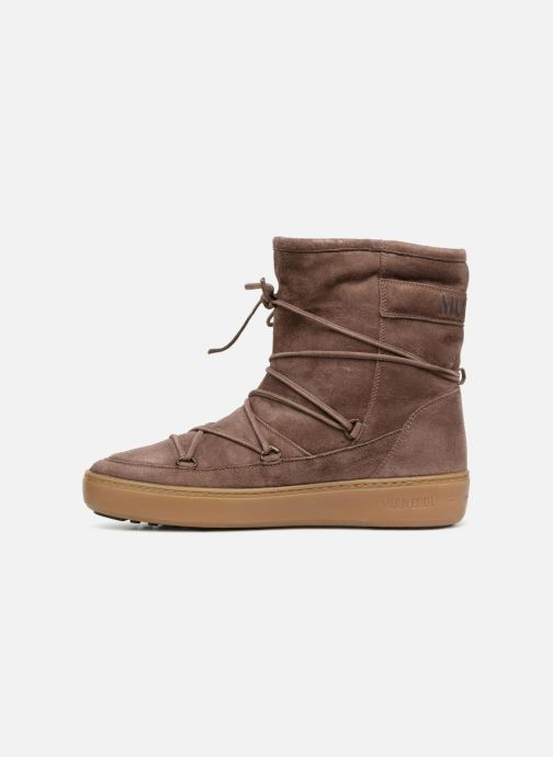 Sport shoes Moon Boot Pulse mid Brown front view