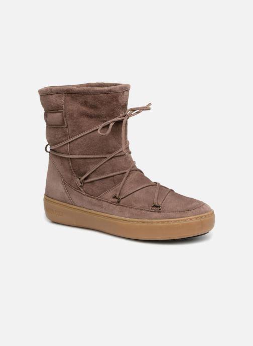Chaussures de sport Moon Boot Pulse mid Marron vue détail/paire