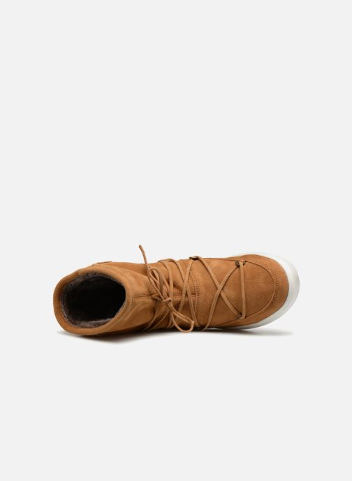 Chaussures de sport Moon Boot Pulse mid Marron vue gauche