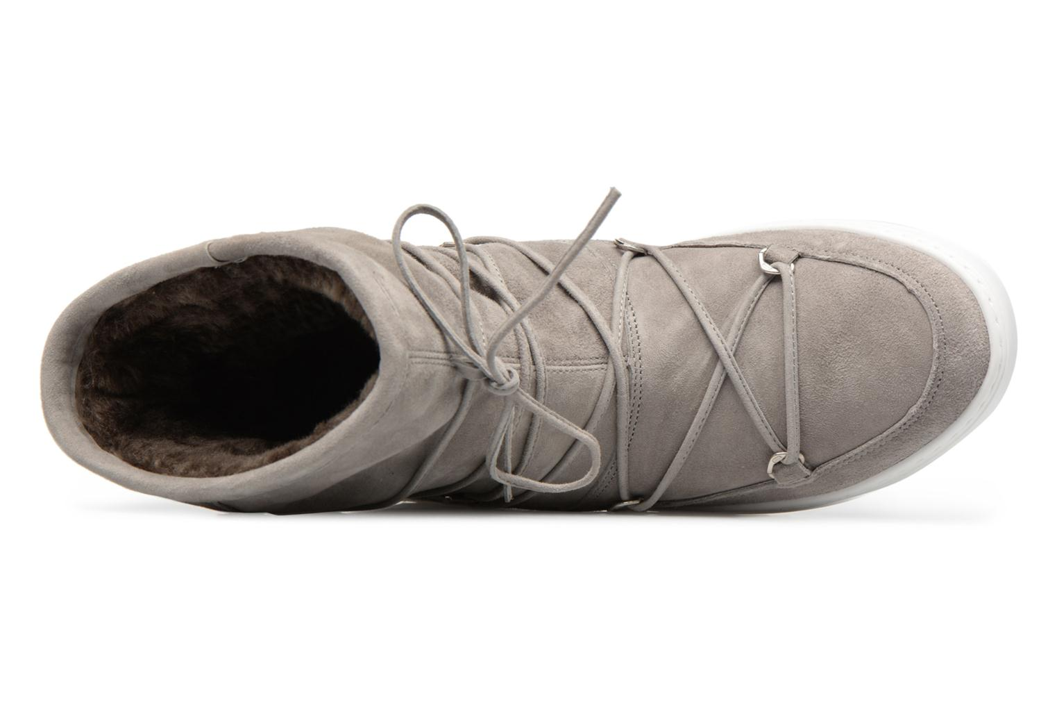 Sport shoes Moon Boot Pulse mid Grey view from the left
