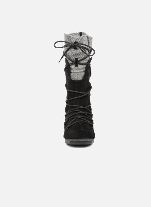 Chaussures de sport Moon Boot anversa wool Noir vue portées chaussures