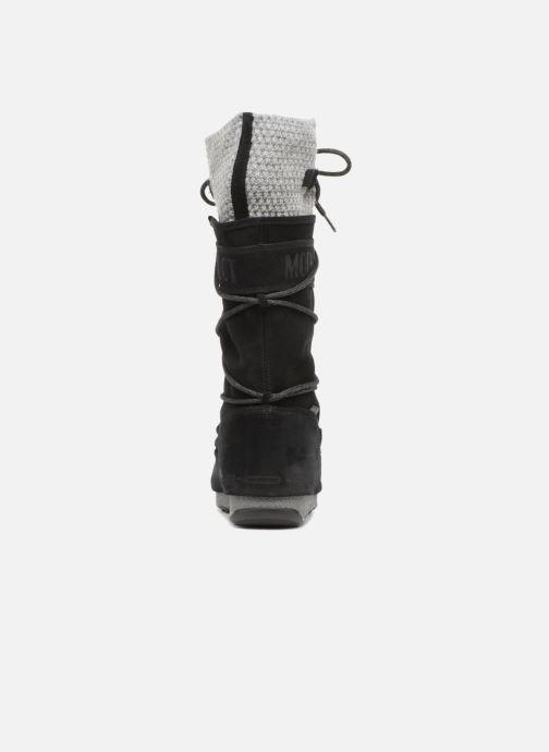 Sportschuhe Moon Boot anversa wool schwarz ansicht von rechts