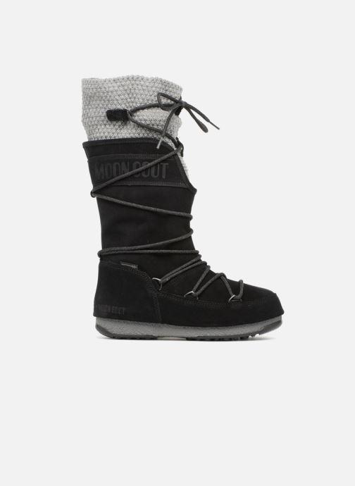 Sportschuhe Moon Boot anversa wool schwarz ansicht von hinten