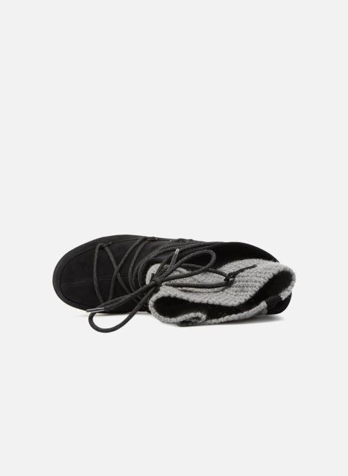 Sportschuhe Moon Boot anversa wool schwarz ansicht von links