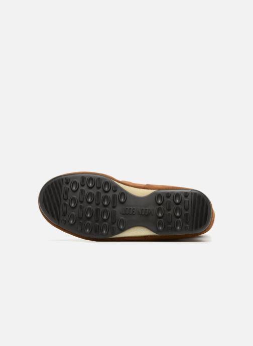 Scarpe sportive Moon Boot anversa wool Marrone immagine dall'alto