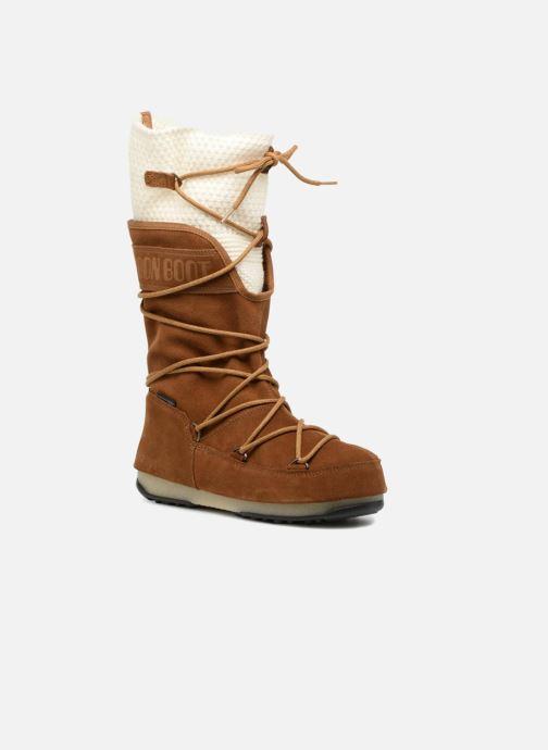 Zapatillas de deporte Moon Boot anversa wool Marrón vista de detalle / par