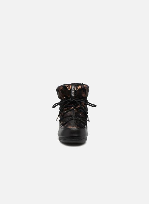 Chaussures de sport Moon Boot low camu Or et bronze vue portées chaussures