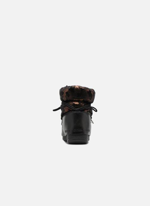 Chaussures de sport Moon Boot low camu Or et bronze vue droite