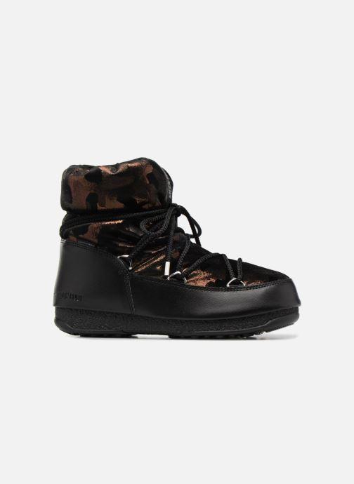 Chaussures de sport Moon Boot low camu Or et bronze vue derrière