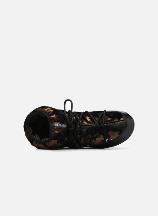 Chaussures de sport Moon Boot low camu Or et bronze vue gauche
