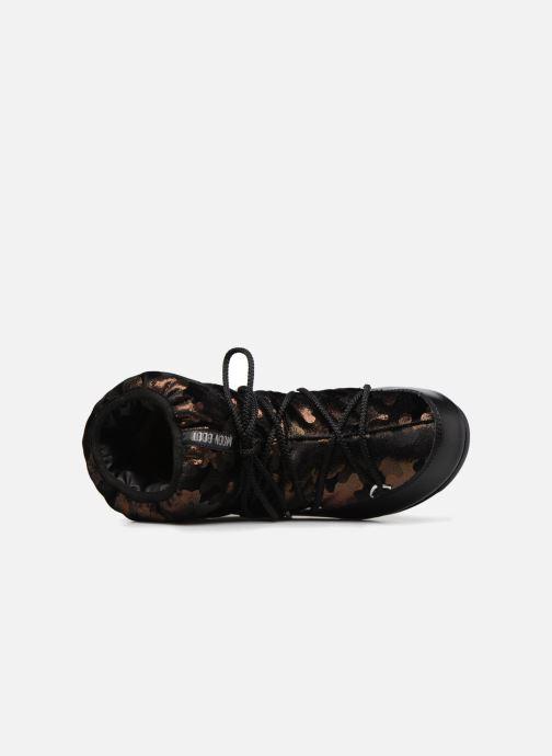Zapatillas de deporte Moon Boot low camu Oro y bronce vista lateral izquierda