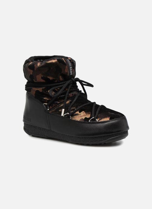Zapatillas de deporte Moon Boot low camu Oro y bronce vista de detalle / par