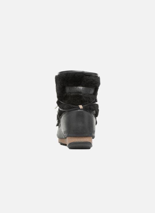 Zapatillas de deporte Moon Boot low SH Negro vista lateral derecha