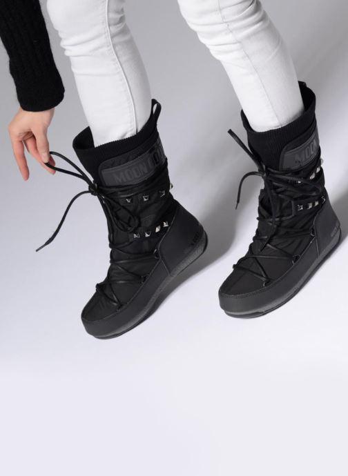 Zapatillas de deporte Moon Boot Monaco Shadow Negro vista de abajo