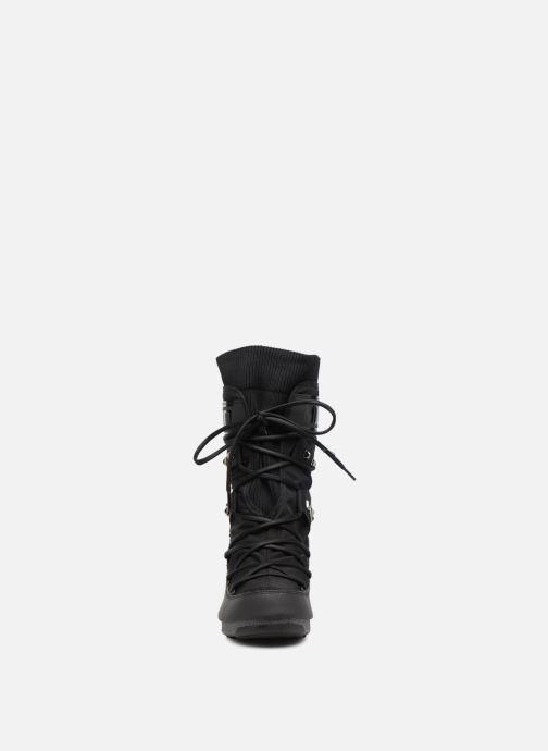 Zapatillas de deporte Moon Boot Monaco Shadow Negro vista del modelo