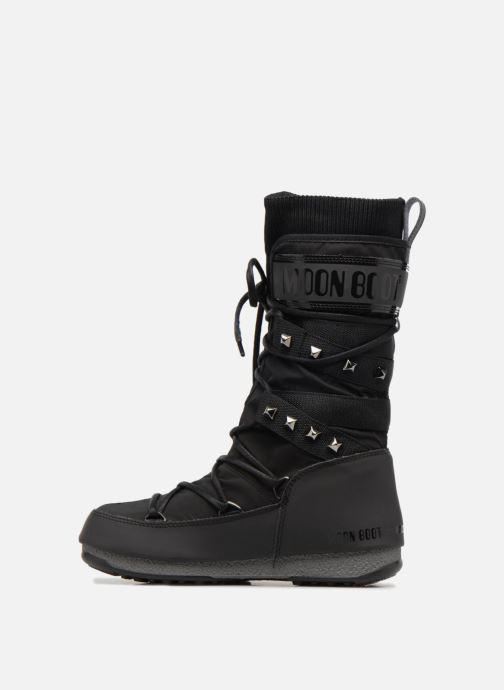 Zapatillas de deporte Moon Boot Monaco Shadow Negro vista de frente