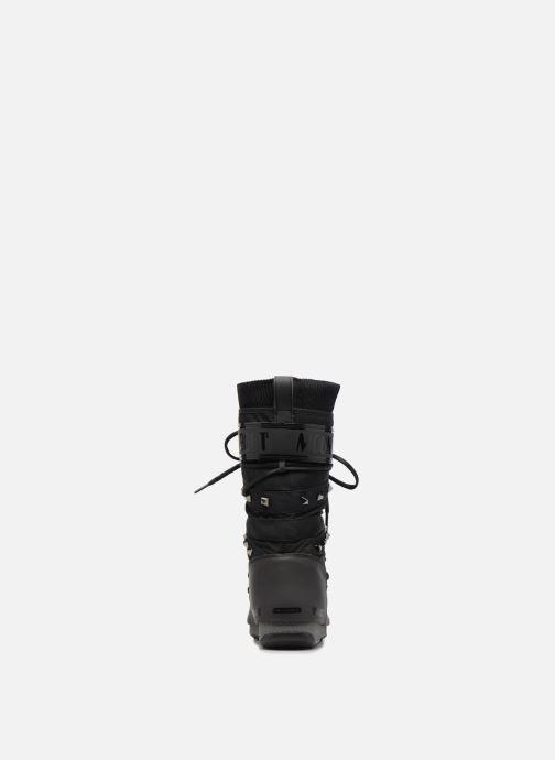 Zapatillas de deporte Moon Boot Monaco Shadow Negro vista lateral derecha