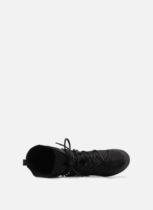 Zapatillas de deporte Moon Boot Monaco Shadow Negro vista lateral izquierda