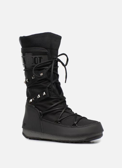 Zapatillas de deporte Moon Boot Monaco Shadow Negro vista de detalle / par