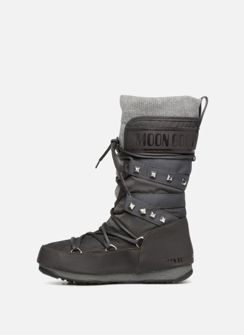 Chaussures de sport Moon Boot Monaco Shadow Gris vue face
