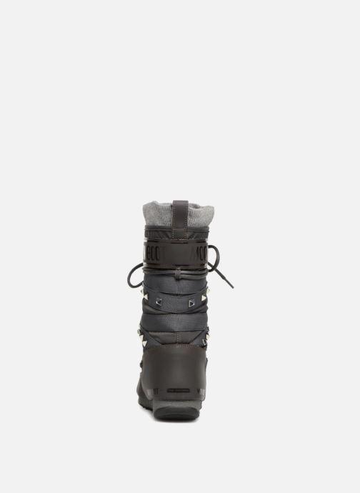 Zapatillas de deporte Moon Boot Monaco Shadow Gris vista lateral derecha