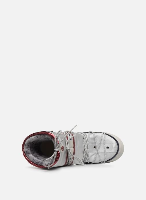 Scarpe sportive Moon Boot Space suit Bianco immagine sinistra