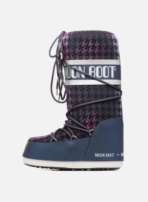 Sport shoes Moon Boot Glam Blue front view