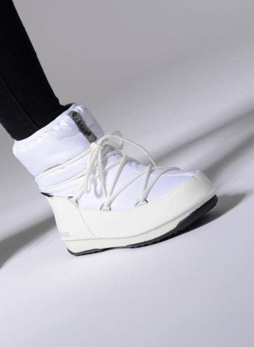 Zapatillas de deporte Moon Boot Low Nylon Negro vista de abajo