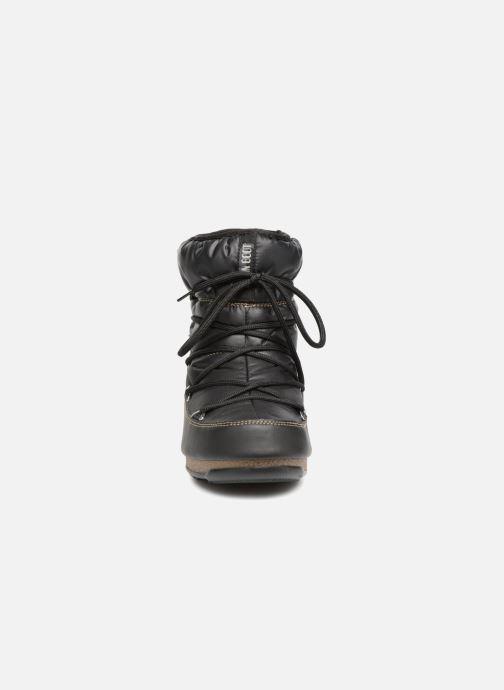Zapatillas de deporte Moon Boot Low Nylon Negro vista del modelo