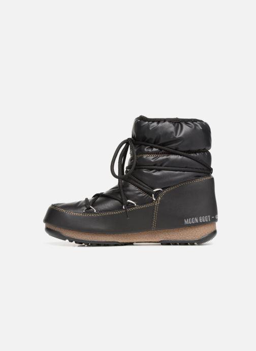 Sportschoenen Moon Boot Low Nylon Zwart voorkant