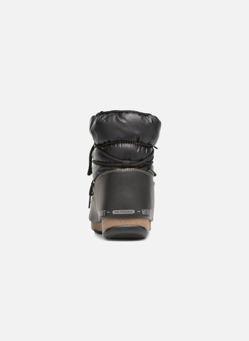 Zapatillas de deporte Moon Boot Low Nylon Negro vista lateral derecha