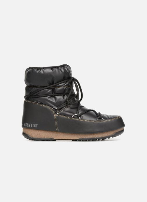Zapatillas de deporte Moon Boot Low Nylon Negro vistra trasera
