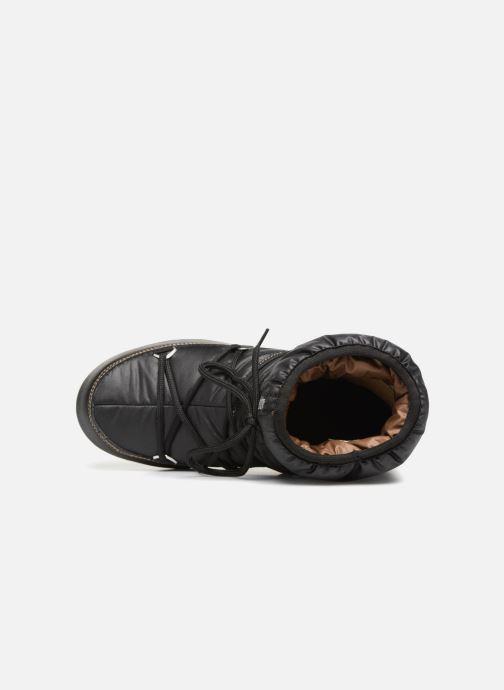Zapatillas de deporte Moon Boot Low Nylon Negro vista lateral izquierda