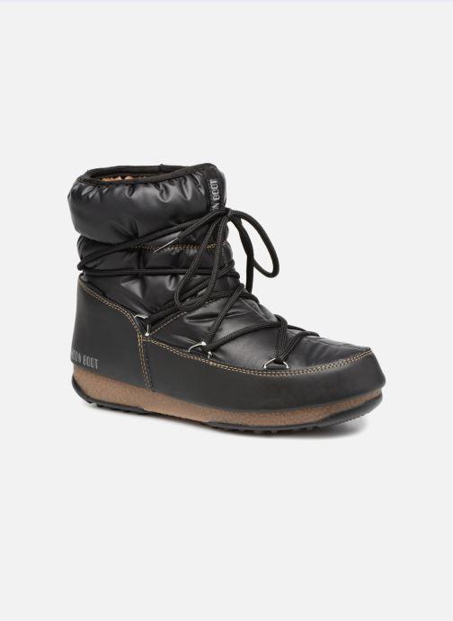 Zapatillas de deporte Moon Boot Low Nylon Negro vista de detalle / par