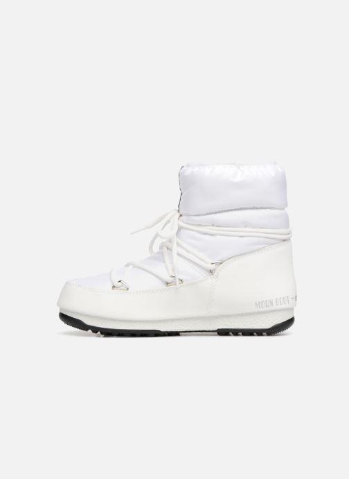 Scarpe sportive Moon Boot Low Nylon Bianco immagine frontale