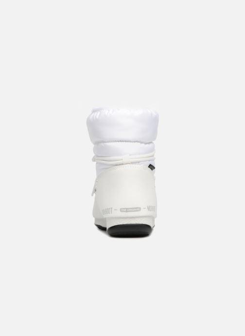 Zapatillas de deporte Moon Boot Low Nylon Blanco vista lateral derecha