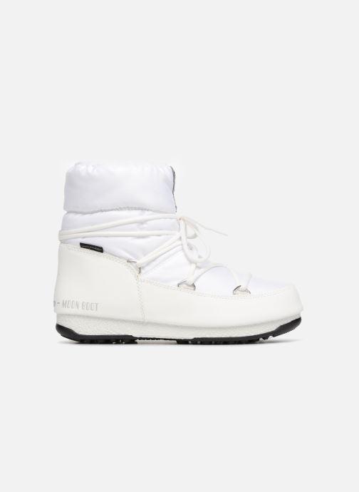 Chaussures de sport Moon Boot Low Nylon Blanc vue derrière