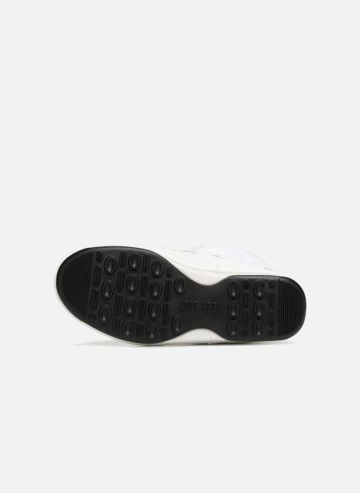 Chaussures de sport Moon Boot Low Nylon Blanc vue haut