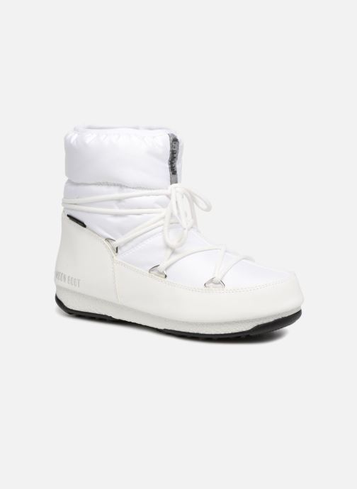 Sport shoes Moon Boot Low Nylon White detailed view/ Pair view