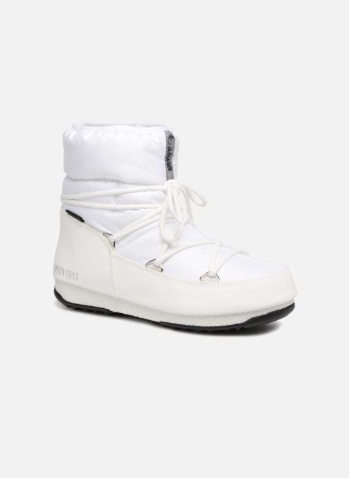 Chaussures de sport Moon Boot Low Nylon Blanc vue détail/paire