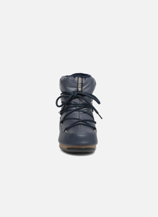 Low Moon Boot Denim Blue Nylon Aq543RLj