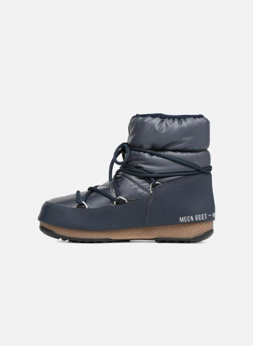 Sport shoes Moon Boot Low Nylon Blue front view