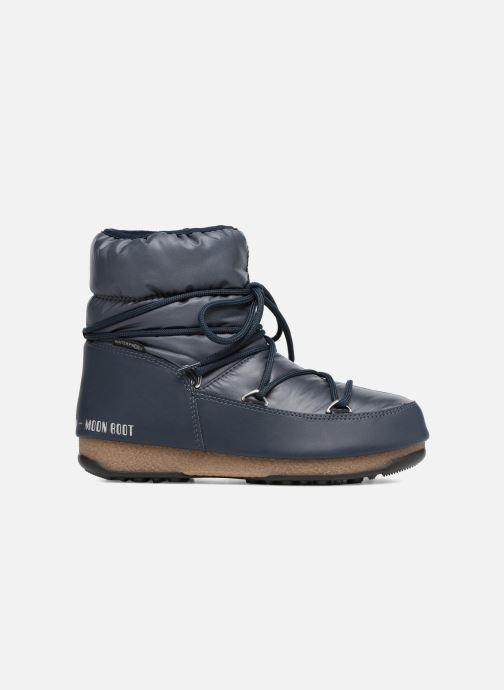 Sportschoenen Moon Boot Low Nylon Blauw achterkant
