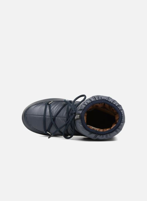 Sport shoes Moon Boot Low Nylon Blue view from the left