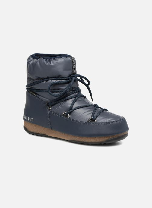 Sport shoes Moon Boot Low Nylon Blue detailed view/ Pair view