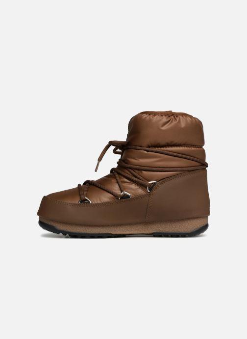 Chaussures de sport Moon Boot Low Nylon Marron vue face