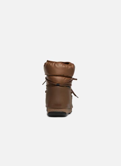 Chaussures de sport Moon Boot Low Nylon Marron vue droite