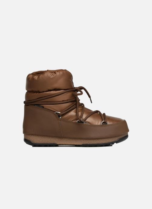 Chaussures de sport Moon Boot Low Nylon Marron vue derrière